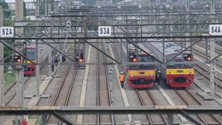 Jalur KRL Jabodetabek Kembali Normal Usai Insiden Anjlok