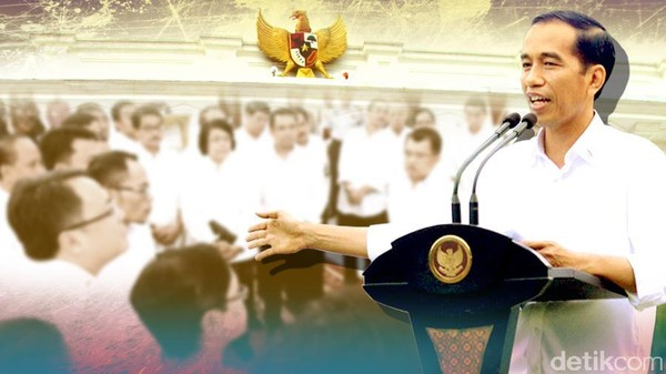 Reshuffle Kabinet Kerja Jokowi