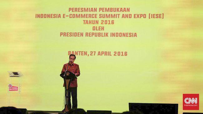 Jokowi Pusing Industri Digital Berkembang Pesat