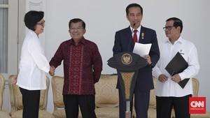 Jokowi 'Goda' Sri Mulyani dalam Rapat Kepala Daerah