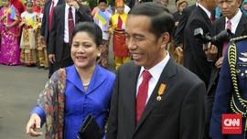 Cerita Jokowi Soal Iriana yang Gemar Belanja Online