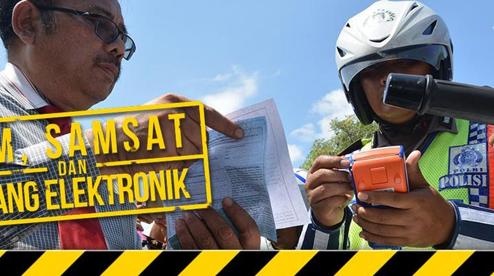 SIM, Samsat dan Tilang Elektronik