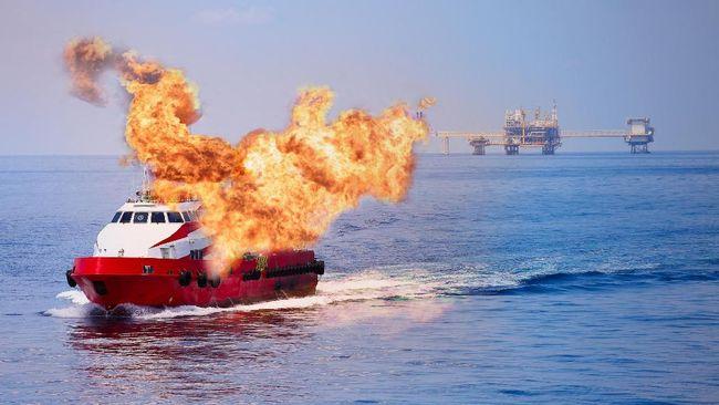 Kapal Motor Terbakar di Kepulauan Masalembu, 3 Orang Tewas