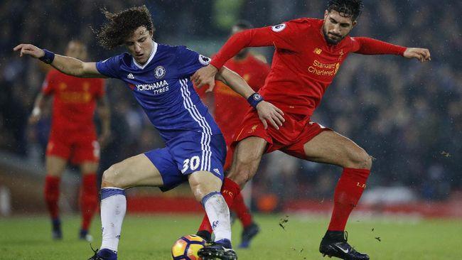 Liverpool Tertinggal 0-1 dari Chelsea di Babak Pertama