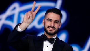 Rakyat Palestina Rayakan Kemenangan Sabet Idola Timur Tengah