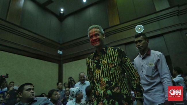 KPK Panggil Ganjar Pranowo Jadi Saksi di Sidang Andi Narogong