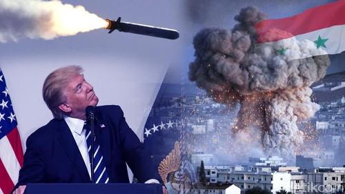 Trump Cs Serang Suriah (Lagi)
