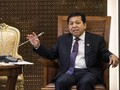 Gelar Ramah Tamah, Setya Novanto Bicarakan RUU Pemilu