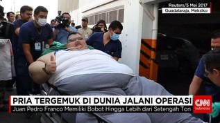Persiapan Operasi Berat Badan Perdana Pria Tergemuk di Dunia