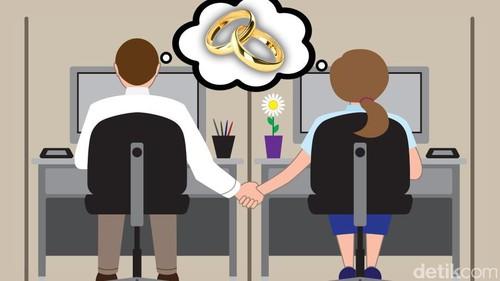 MK Bolehkan Menikahi Teman Satu Kantor
