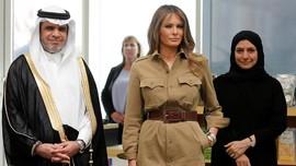 Saran Bruni untuk Melania Trump Soal Cara Jadi Ibu Negara