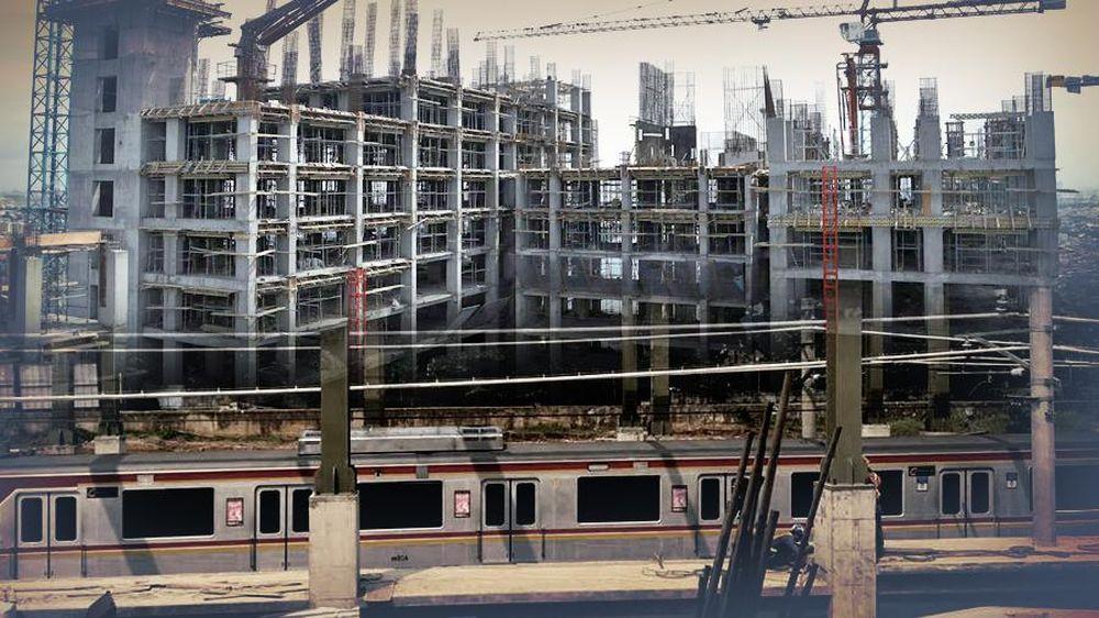 Proyek Rusun di Atas Stasiun