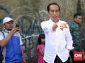 Jokowi Pun Terjebak Macet di Sukabumi