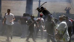 Parlemen Venezuela Diserang Massa Pro-pemerintah