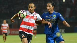 Persib Hadapi Ujian Berat Lawan Madura United