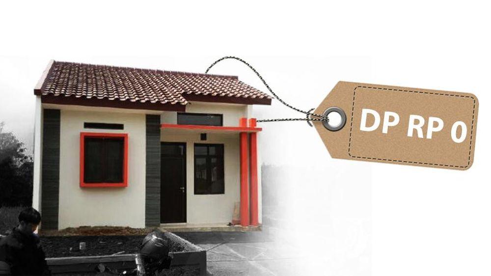 Rumah DP 0 Rupiah untuk Gaji Rp 7 Juta