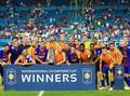 FOTO: Aksi Barcelona Hajar Real Madrid