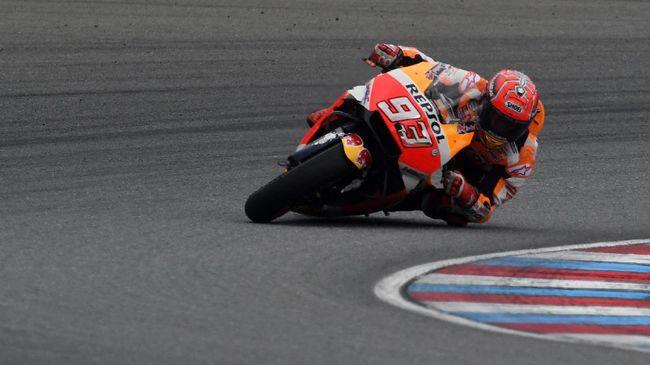 Marquez Tercepat di FP III, Rossi Alami Kemajuan