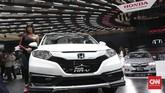 <p>Tak ketinggalan, Honda turut menghadirkan amunisi terbarunya, salah satunya mobil segmen<em>crossover</em>terbaru C-HR.(CNN Indonesia/Andry Novelino)</p>