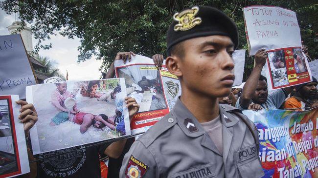 Penembakan di Deiyai, Empat Polisi Divonis Minta Maaf