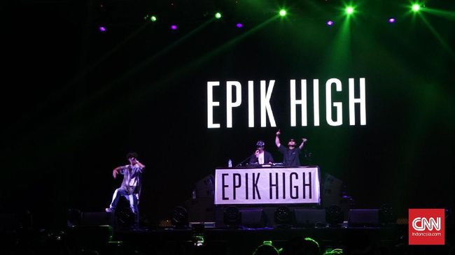 Epik High Hentak We The Fest Hari ke-2