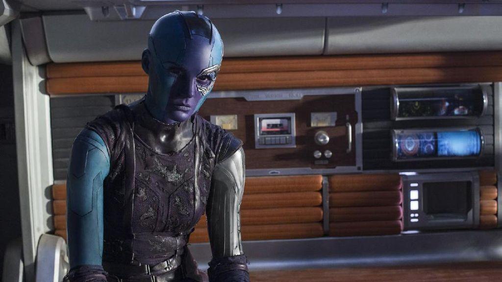 'Avengers: Infinity War' Ungkap Lebih Banyak Hubungan Gamora-Nebula dan Thanos
