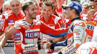 Valentino Rossi Tak Dukung Marquez atau Dovizioso