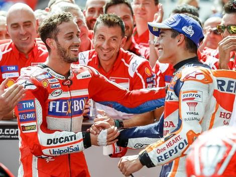 Marquez vs Dovizioso Seperti Duel Rossi vs Hayden