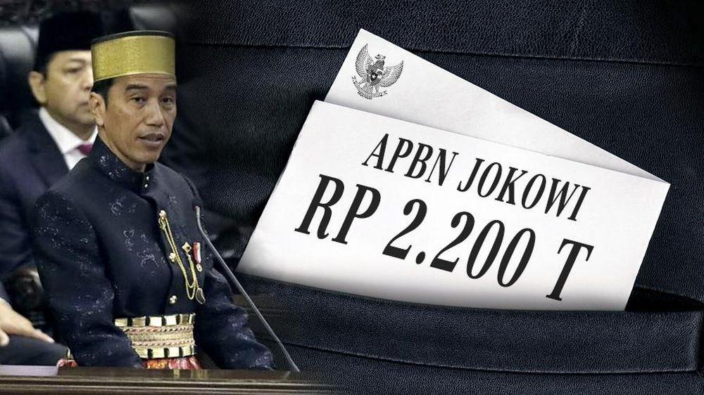 APBN Jokowi Rp 2.200 Triliun