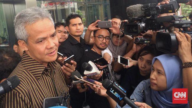Ganjar Pranowo Akui Rumor Andi Narogong Orang Dekat Setnov