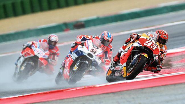 Marquez Tercepat di FP Pertama, Valentino Rossi Terpuruk