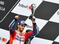 Dovizioso Menang Dramatis Atas Marquez, Rossi Gagal Finis