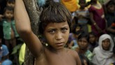 UNICEF: 340 Ribu Anak Rohingya dalam Kondisi Mengerikan