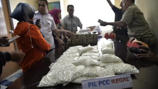 Polisi Temukan Bahan Baku PCC di Gudang Cimahi dan Surabaya