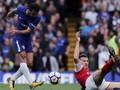 Chelsea dan Arsenal Sama Kuat di Babak Pertama