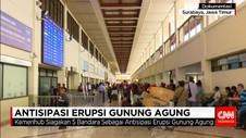 Kemenhub Siagakan 5 Bandara Antisipasi Erupsi Gunung Agung
