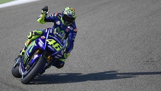 Rossi: MotoGP Berbahaya Tapi Menyenangkan