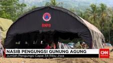 Warga Mengungsi Antisipasi Status Awas Gunung Agung
