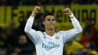 Ronaldo Ingin Tujuh Gelar Pemain Terbaik Dunia