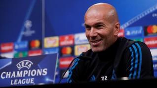 Zinedine Zidane Tak Mungkin Latih Barcelona