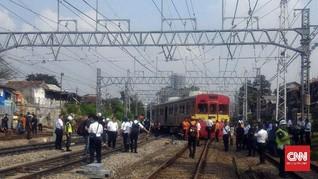 KRL Rute Bogor-Muara Angke Anjlok Akibat Gangguan Sinyal