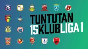 Daftar Tuntutan 15 Klub Liga 1