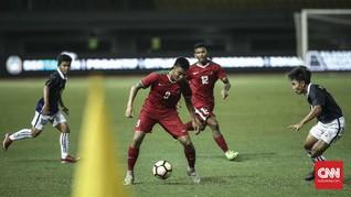 Timnas Indonesia U-19 vs Persid Jember Berakhir Imbang