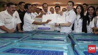 KPU Nyatakan Berkas Pendaftaran Partai Hary Tanoe Lengkap