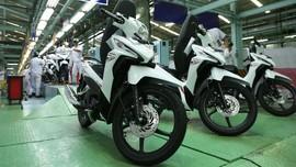 Penjualan Sepeda Motor Melemah, Honda Masih Jawara