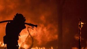 FOTO: Potret Dahsyatnya Kebakaran Hutan California