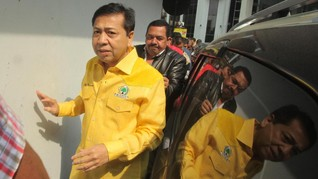 Setya Novanto Bakal Absen Jadi Saksi Sidang Korupsi e-KTP