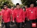 PDIP Daftar Pemilu 2019 Diiringi Marawis dan Reog