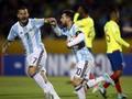 Messi Bawa Argentina Unggul atas Ekuador di Babak Pertama