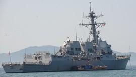 Kapal Penghancur AS Berlayar di LCS, China Protes Keras